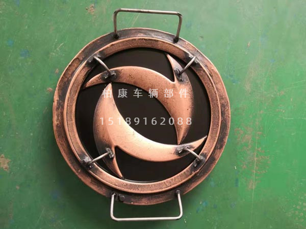 Spray painted copper mold